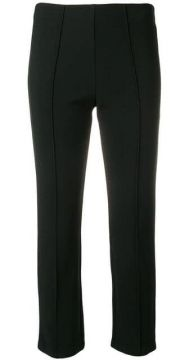 Slim Fit Cropped Trousers - By Malene Birger