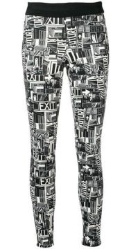 Graphic Print Trousers - Cambio