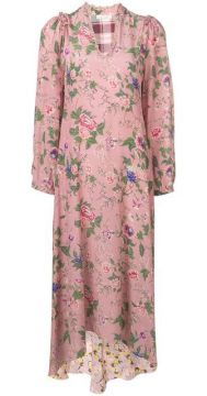 Floral Patterned Dress - Anjuna