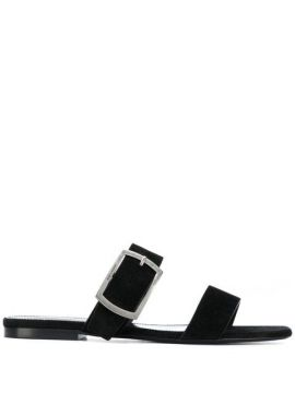 Oak Flat Sandals - Saint Laurent