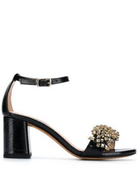 Open Toe Embellished Sandals - Albano