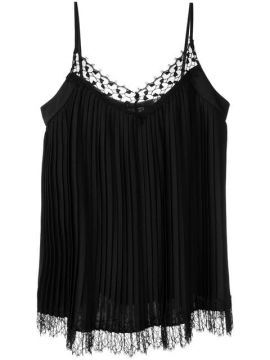 Pleated Lace Cami - Blumarine