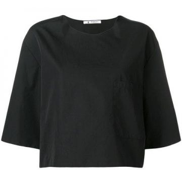 Boxy Cropped Sleeve Top - Barena