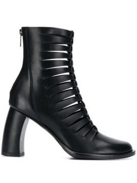 Cut Out Ankle Boots - Ann Demeulemeester