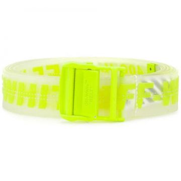 Neon Logo Belt - Off-white