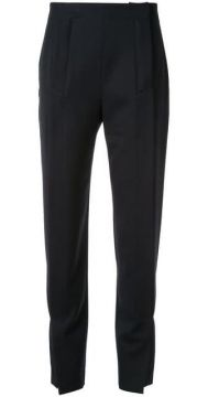 Slim-fit Pleated Trousers - Cédric Charlier