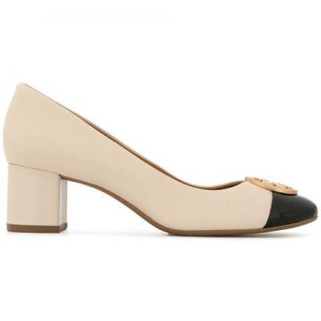 Chelsea 50 Cap-toe Pumps - Tory Burch
