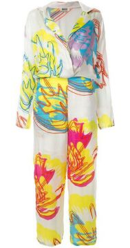 Printed Jumpsuit - All Things Mochi