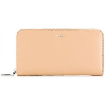 Zipped Logo Wallet - Dkny