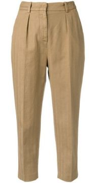 Cropped Trousers - Dondup