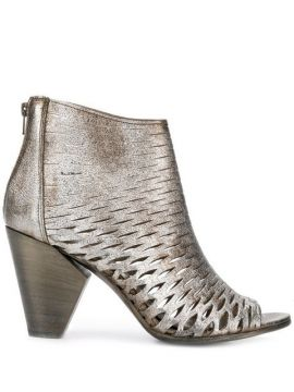 Perforated Ankle Boots - Strategia
