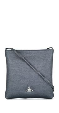 Crosshatch Textured Crossbody Bag - Vivienne Westwood