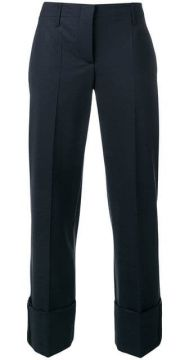 Tailored Cropped Trousers - Brunello Cucinelli