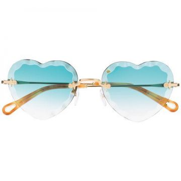 Heart Eye Sunglasses - Chloé Eyewear