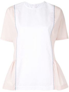 Peplum Side Blouse - Marni