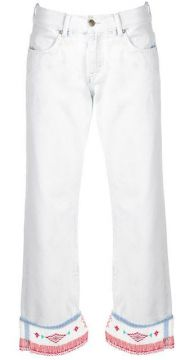 Low-rise Straight Trousers - Alanui