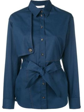 Belted Shirt - Cédric Charlier