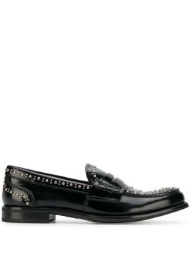 Pembrey Studded Penny Loafers - Churchs