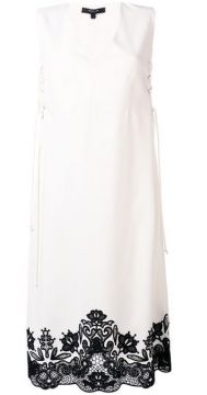 Sleeveless Lace-up Dress - Derek Lam