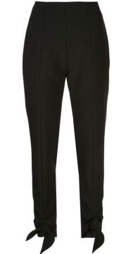Knotted Cuff Trousers - Carmen March