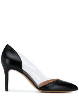 Clear Panel Pumps - Albano