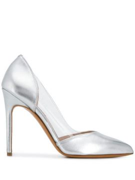Metallic Pointed Pumps - Albano