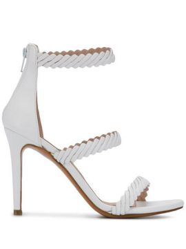 Textured Strap Sandals - Albano