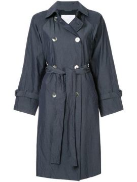 Belted Trench Coat - Blueflag + Kiminori Morishita