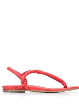 Thong Strap Sandals - Del Carlo