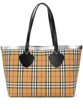 Bolsa Tote The Giant Dupla Face - Burberry