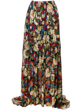 Long Floral Skirt - Anjuna