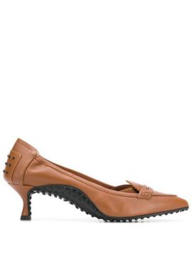 Kitten Heel Pumps - Tods