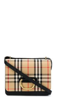 Check Cross Body Bag - Burberry