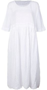 White Cotton Dress - Daniela Gregis