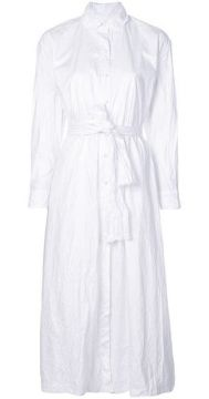 Belted Shirt Dress - Daniela Gregis