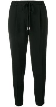 Tapered Drawstring Trousers - Antonelli