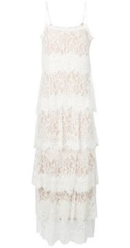 Layered Lace Panel Dress - Aniye By