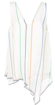 Striped Sleeveless Top - Derek Lam 10 Crosby