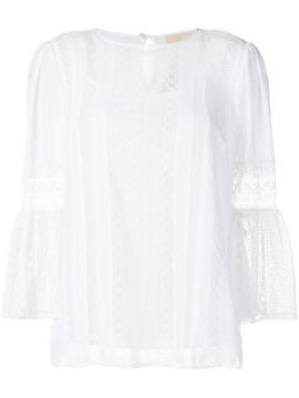 Lace Panels Blouse - Michael Michael Kors