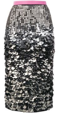 Sequin Pencil Skirt - Nº21