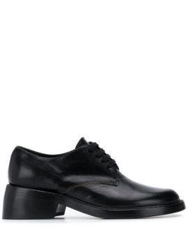 Chunky Heel Lace-up Shoes - Ann Demeulemeester