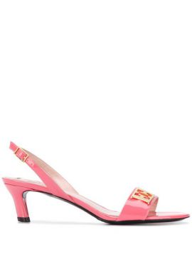 Kitten Heel Sandals - Escada