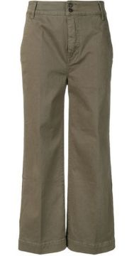 Cropped Wide-leg Trousers - Frame
