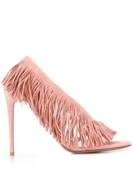 Wild Fringe Sandals - Aquazzura