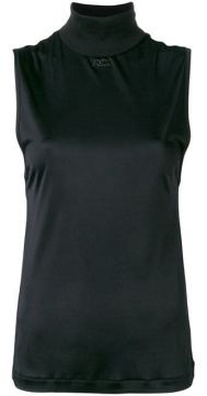 Roll Neck Sleeveless Top - Courrèges