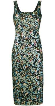 Sequin Embroidered Dress - Alexa Chung