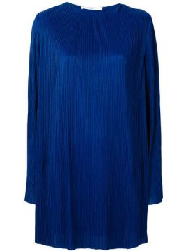 Pleated Longsleeved Dress - Givenchy