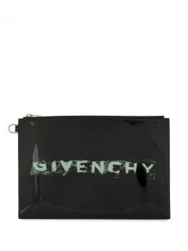 Logo Clutch - Givenchy
