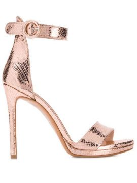 Snake-effect Pumps - Albano