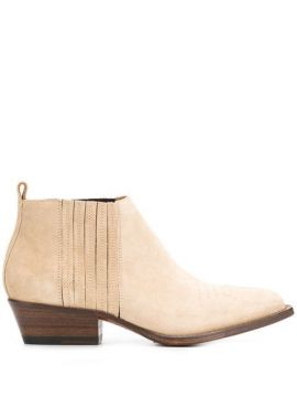 Low-heel Ankle Boots - Buttero